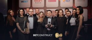 BetConstruct, premiado en los International Gaming Awards