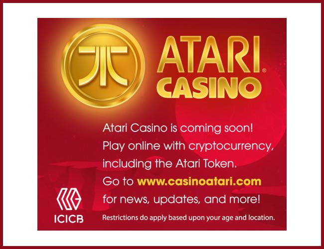 Atari lanza un casino online con criptomonedas