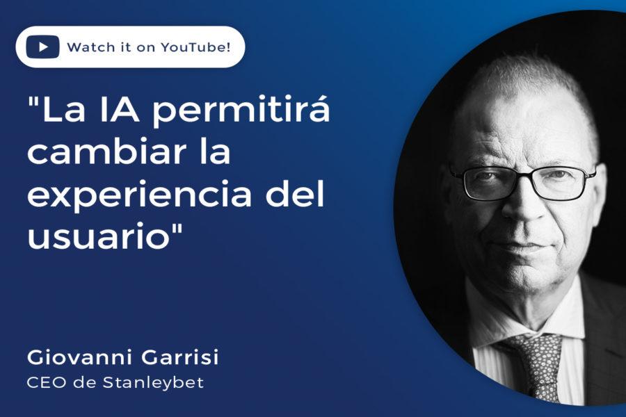 Giovanni Garrisi, CEO de Stanleybet