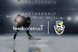 FeedConstruct proveerá soluciones de datos en una de las ligas de hockey mas importantes de Europa.