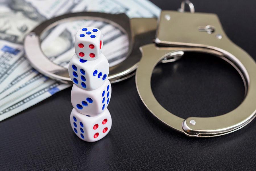 Dos meses atrás, la policía desbarató un casino clandestino en San Juan.