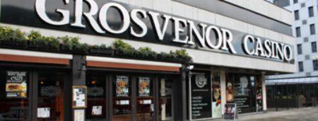 Grosvenor Casino stands opposite to the Merrion Centre on Merrion Way, Leeds.