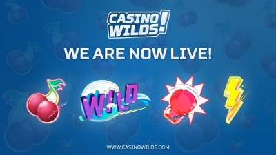 Players can experience the live gaming on CasinoWilds' site.