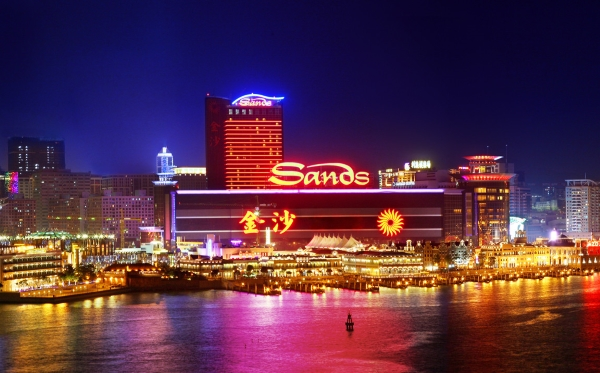 Sands china to pay HK$1 dividend.