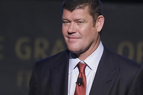 James Packer sold US$77 worth of Crown notes