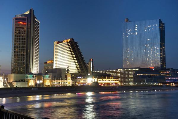 Atlantic City casinos revenue rose.
