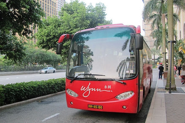 Macau to limit shuttle buses.