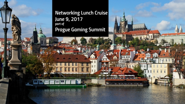 Prague Gaming Summit announces cruise through the Vtlava river.