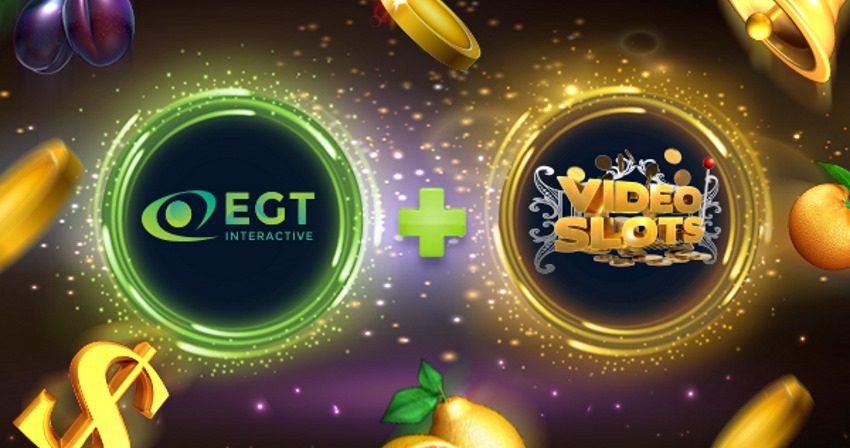 Videoslots launches EGT Interactive content