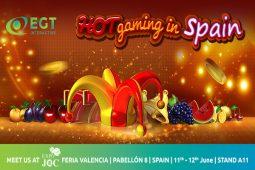 EGT Interactive will participate in ExpoJoc Valencia
