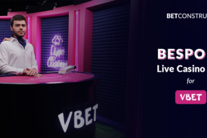 While the constant tie to technology may come in a way of artisanal, BetConstruct successfully marries the two in its Live Casino project for the international brand VBet.