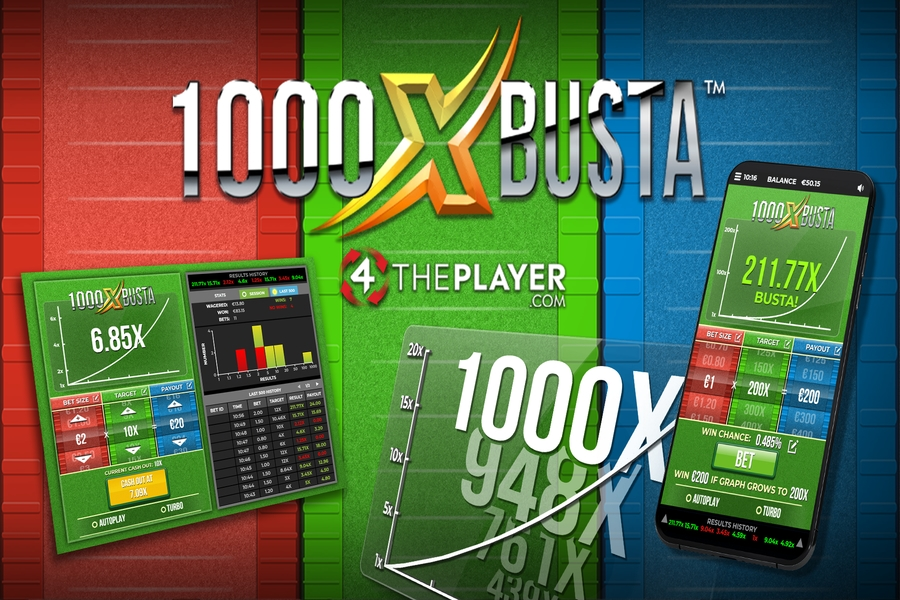 4ThePlayer launches a brand new game 1000XBUSTA
