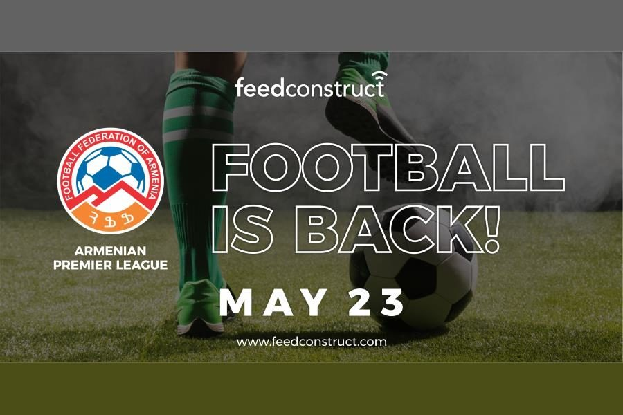 FeedConstruct continues to work with the Armenian Premier League.